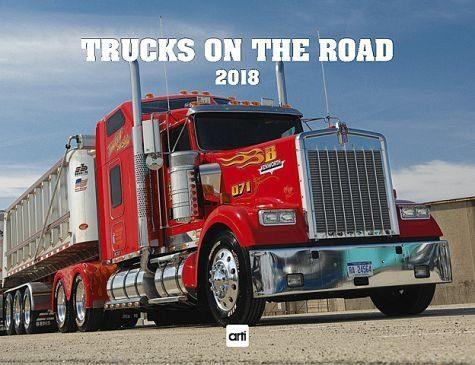 Kalender »Trucks on the Road 2018«