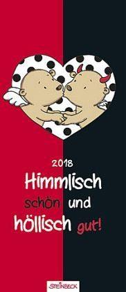 Kalender »Engel & Teufel 2018 - Himmlisch schön und...«