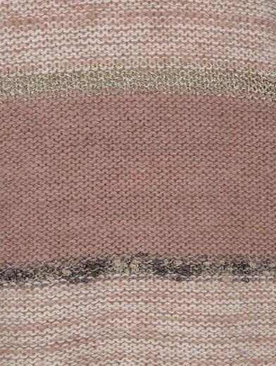 Alba Moda Pullover im farbharmonischen Streifendessin