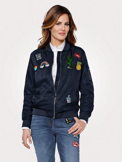 Mona Blouson With Fashionable Patches
