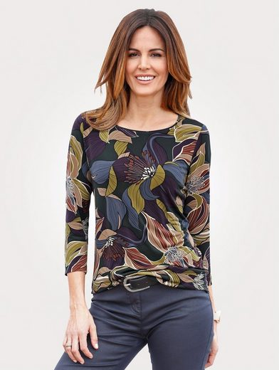 Mona Shirt With Fine Print Motif