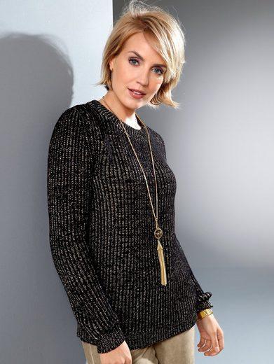 Paola Pullover mit glänzenden Fasern