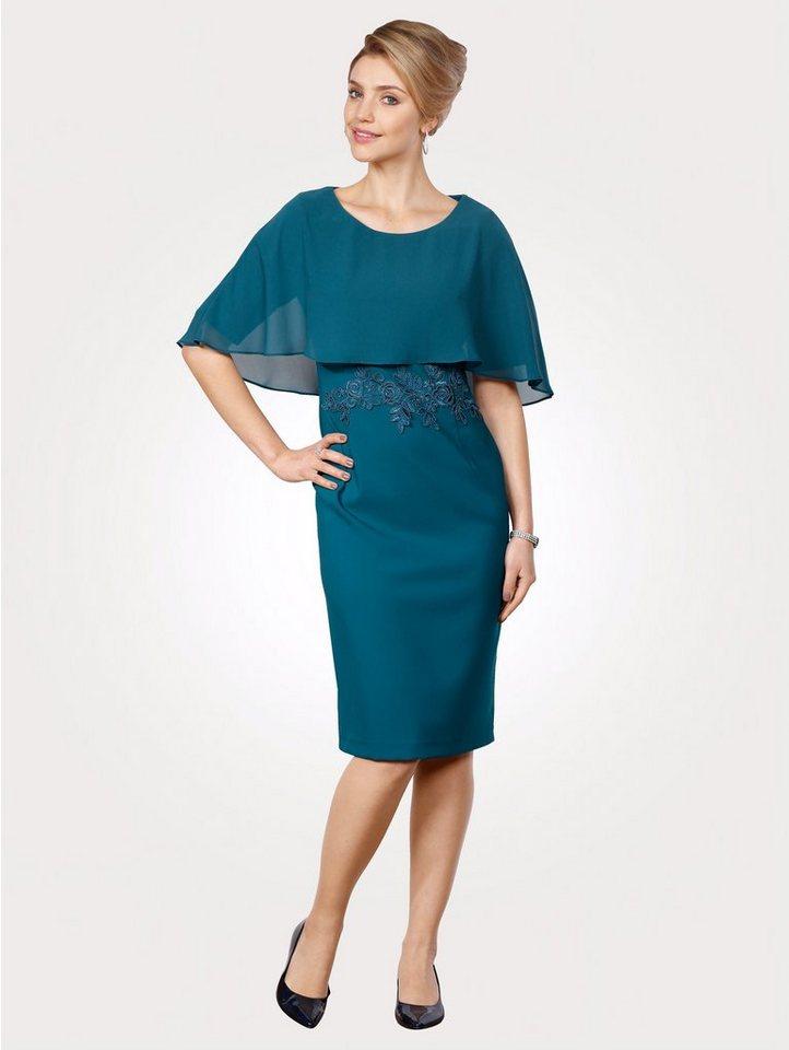 Mona Kleid mit festem Überwurf, Florale ...