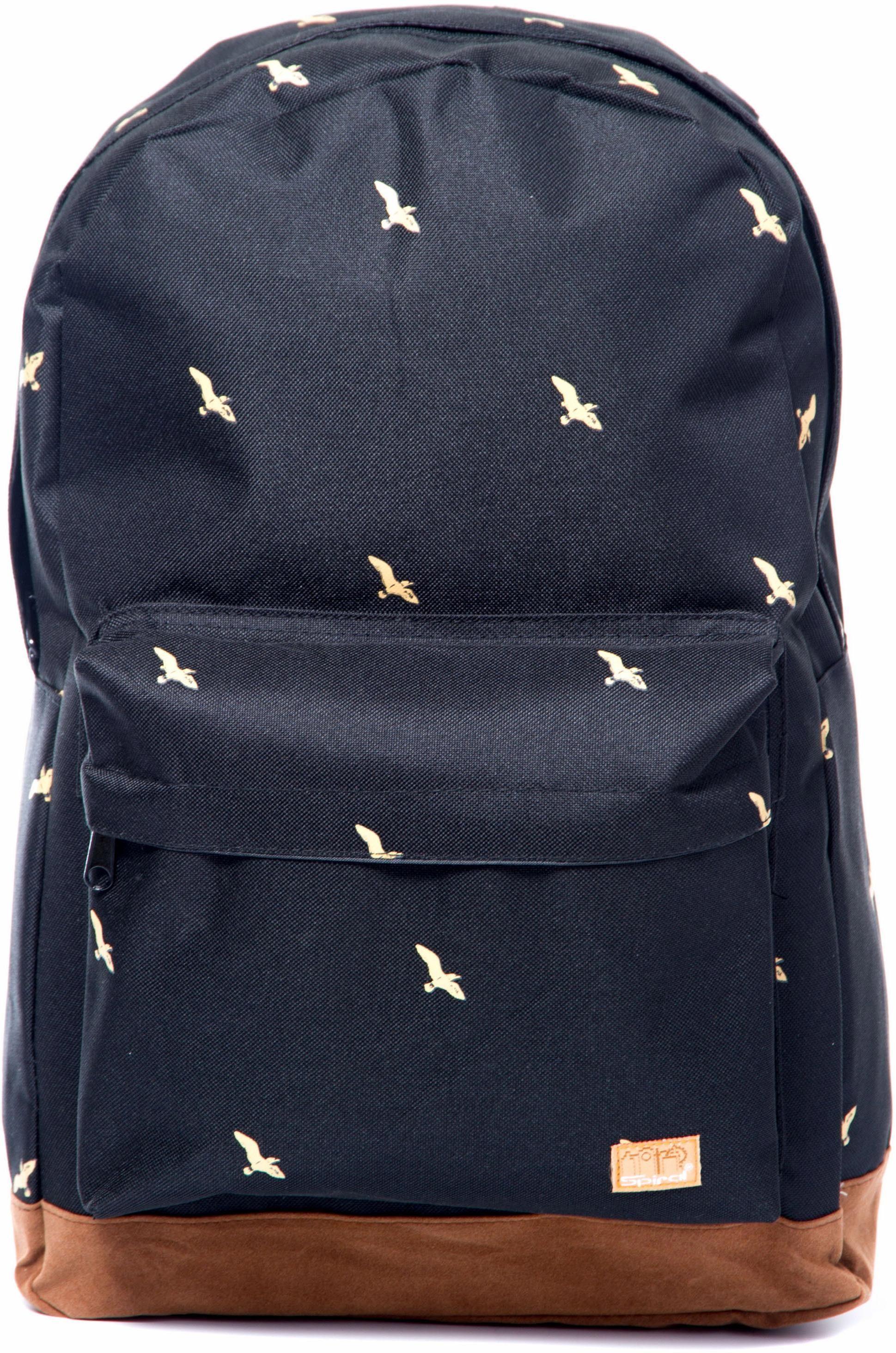 Spiral® Rucksack mit Laptopfach, »OG, bird black«