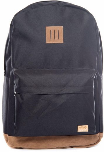 Spiral® Backpack With Laptop Compartment, Og, Classic Black