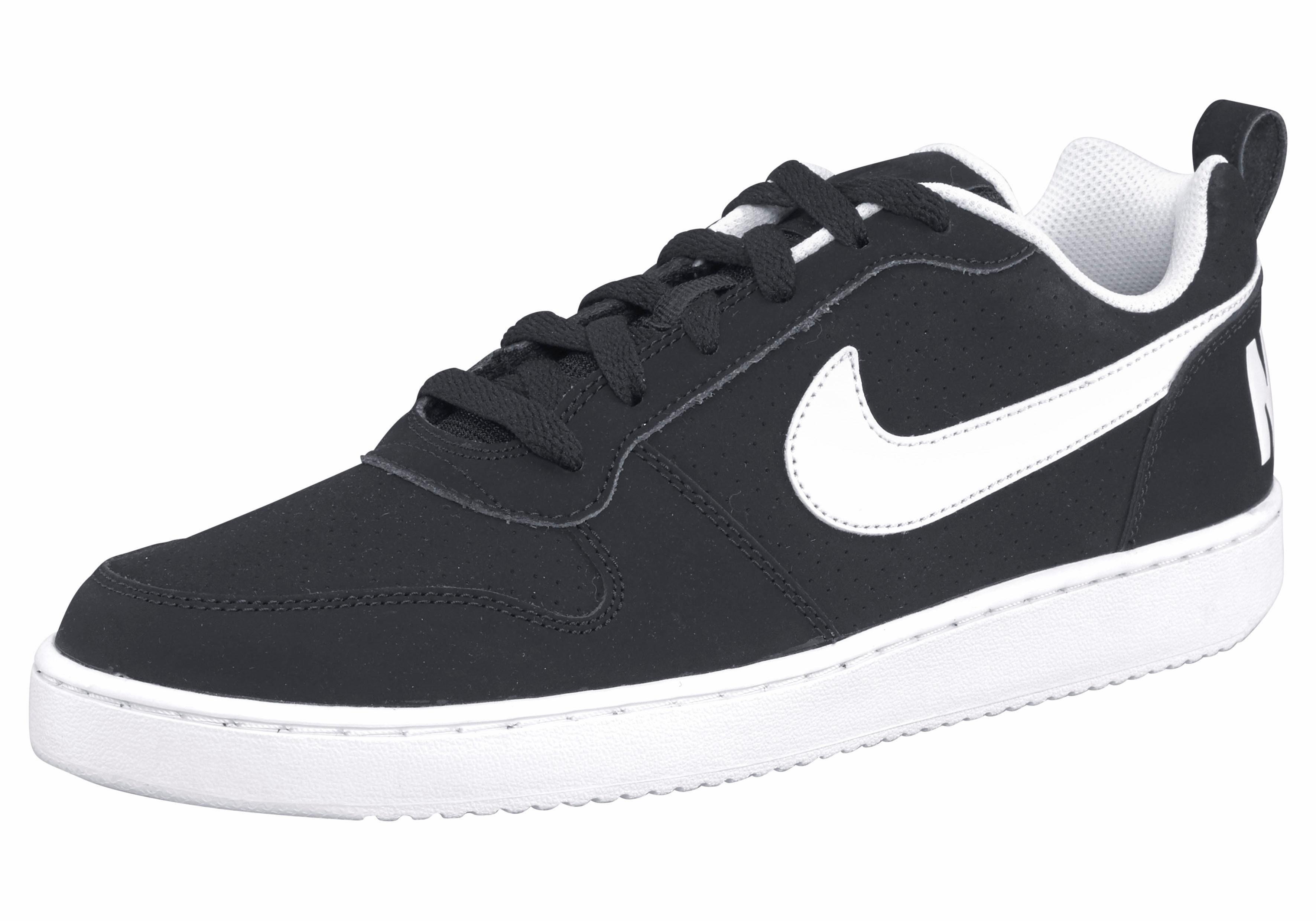Nike Sportswear Court Borough Low Shoe Sneaker  schwarz-weiß