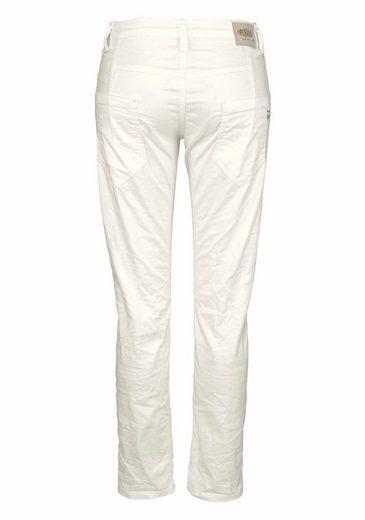 Please Jeans Boyfriend-Jeans P03P, mit Nietendetails