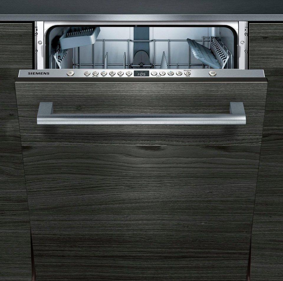 SIEMENS Vollintegrierbarer Einbaugeschirrspüler SN636X00IE  ~ Geschirrspülmaschine Otto