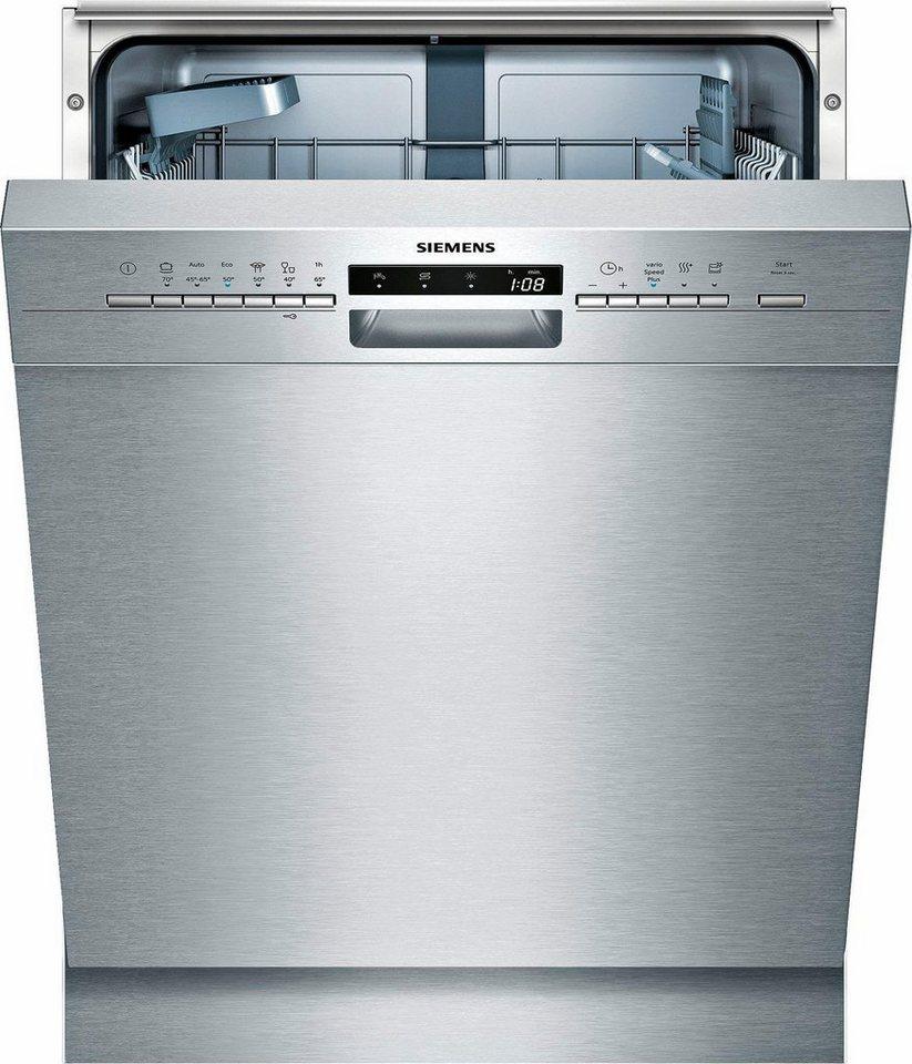 SIEMENS Unterbaugeschirrspüler SN436S00IE, A++, 9,5 Liter  ~ Geschirrspülmaschine Otto