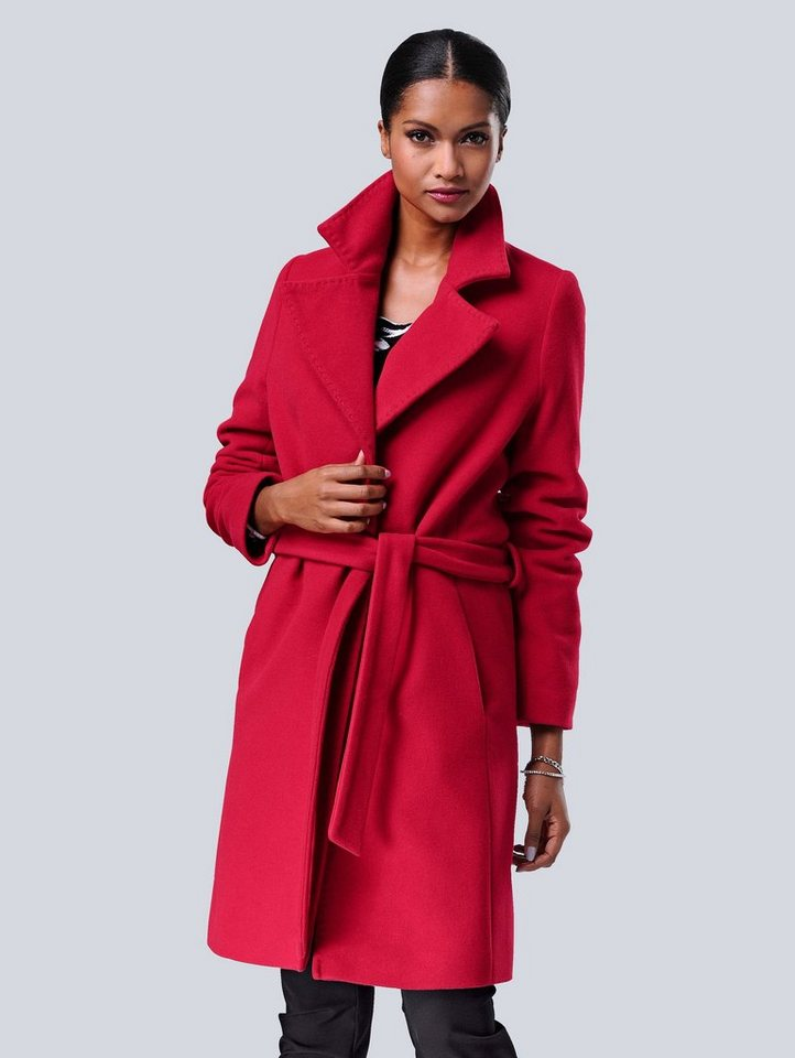bbb9a6078e7b10 Alba Moda Mantel in weicher Wolle-Kaschmir Qualität online kaufen
