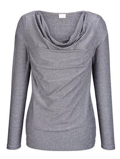 Alba Moda Shirt With Gloss Effect