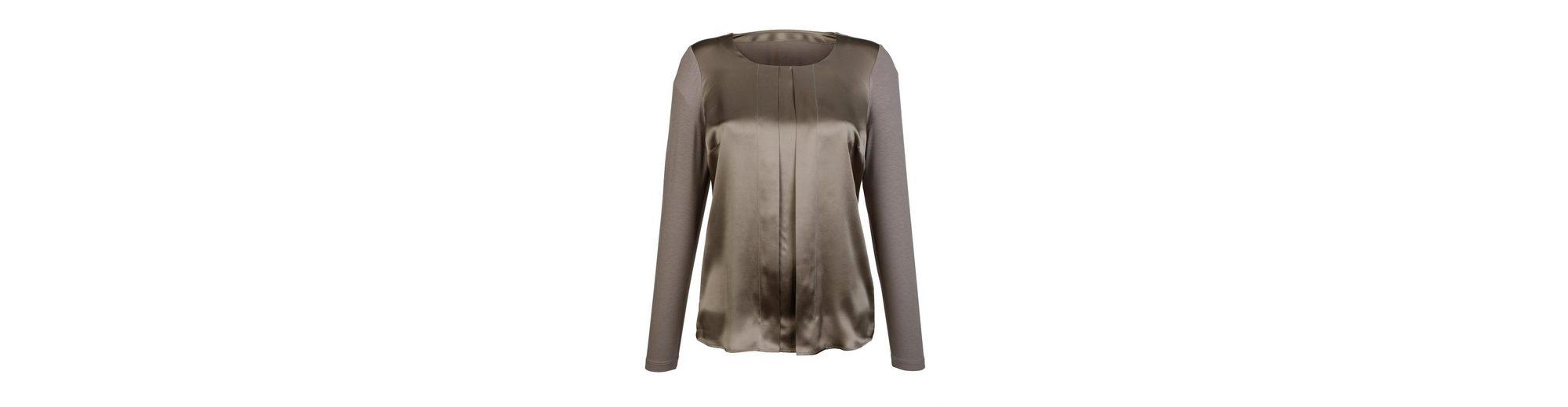 Das Beste Geschäft Zu Bekommen Original-Verkauf Online Alba Moda Shirt im Vorderteil aus reiner Seide Verkauf Ebay Günstig Kaufen 100% Original Ob9BaM83U