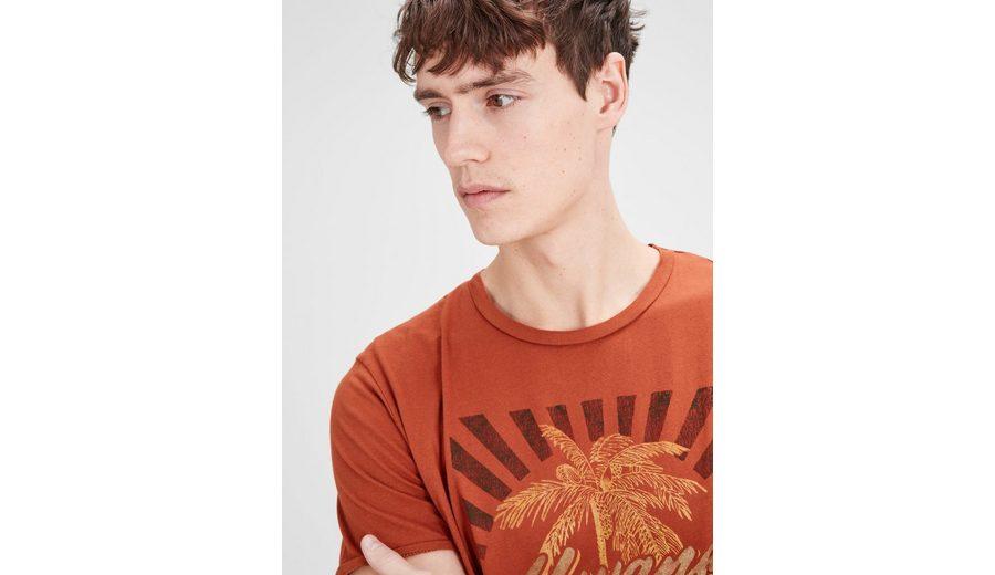 Jack & Jones Bedrucktes T-Shirt Billig Verkaufen Mode-Stil Günstiges Online-Shopping Freies Verschiffen Am Besten bgA8kWfY