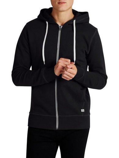 Jack & Jones Freitzeit-Sweatshirt mit Reißverschluss in regulärer Passform