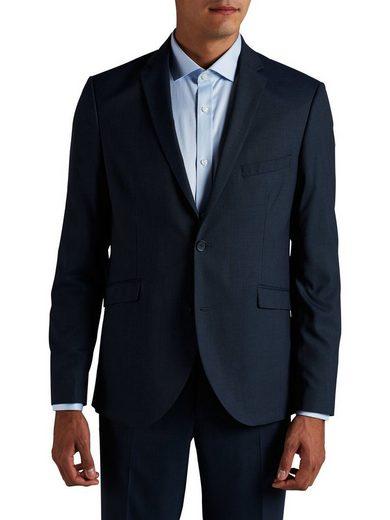 Jack & Jones Navy Blue Blazer In Regular Passform