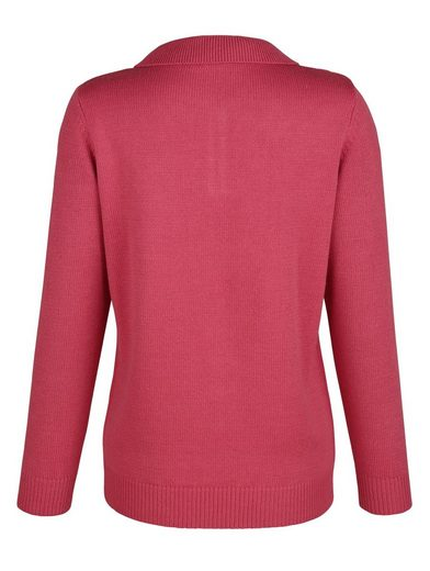 Paola Pullover mit Ajourmuster