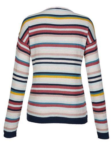 Mona Pullover in Streifenoptik