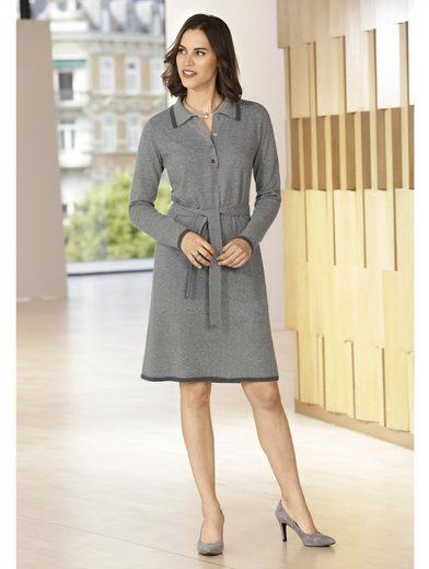 Mona Kleid in Feinstrick