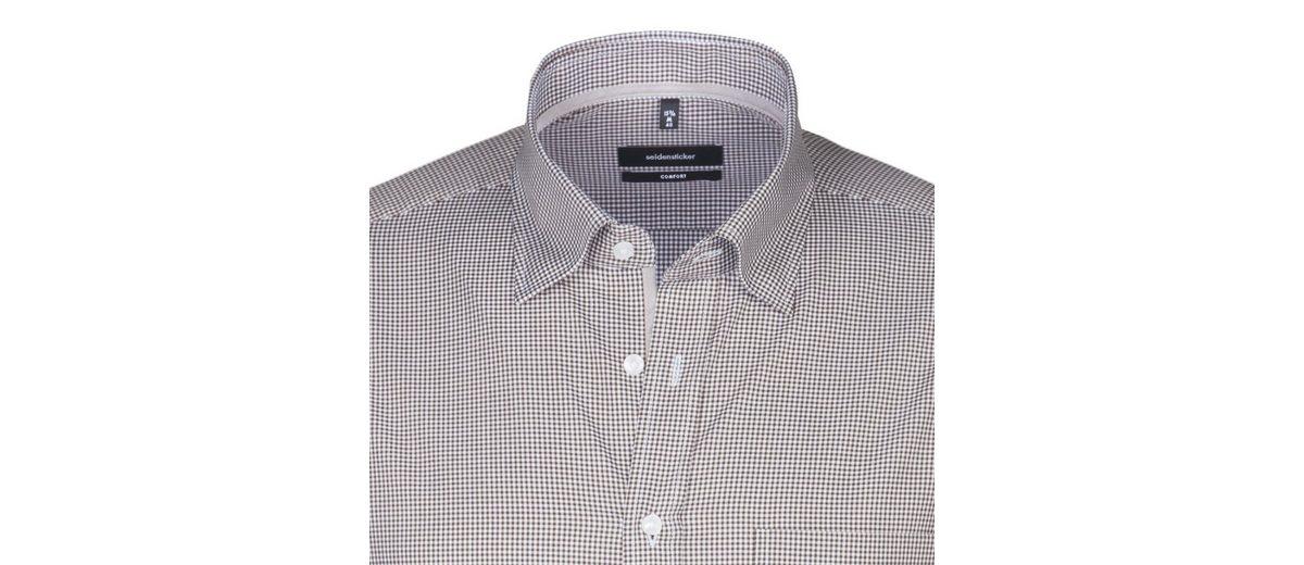 seidensticker Businesshemd Comfort, Button-Down-Kragen