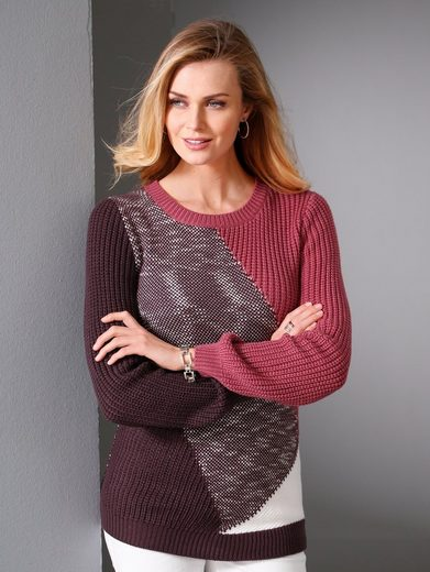 Paola Pullover mit Farbmix