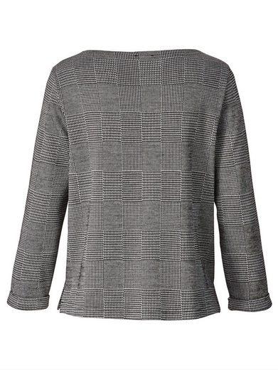 Mona Sweatshirt mit grafischem Jacquardmuster