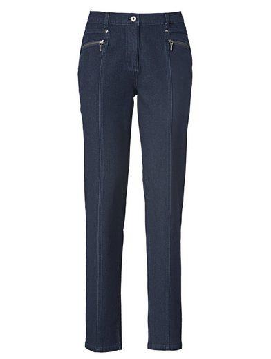 Mona Jeans mit streckender Teilungsnaht
