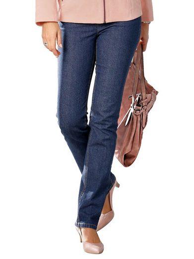 Paola Jeanshose Mit Ziersteine an den Gesäßtaschen