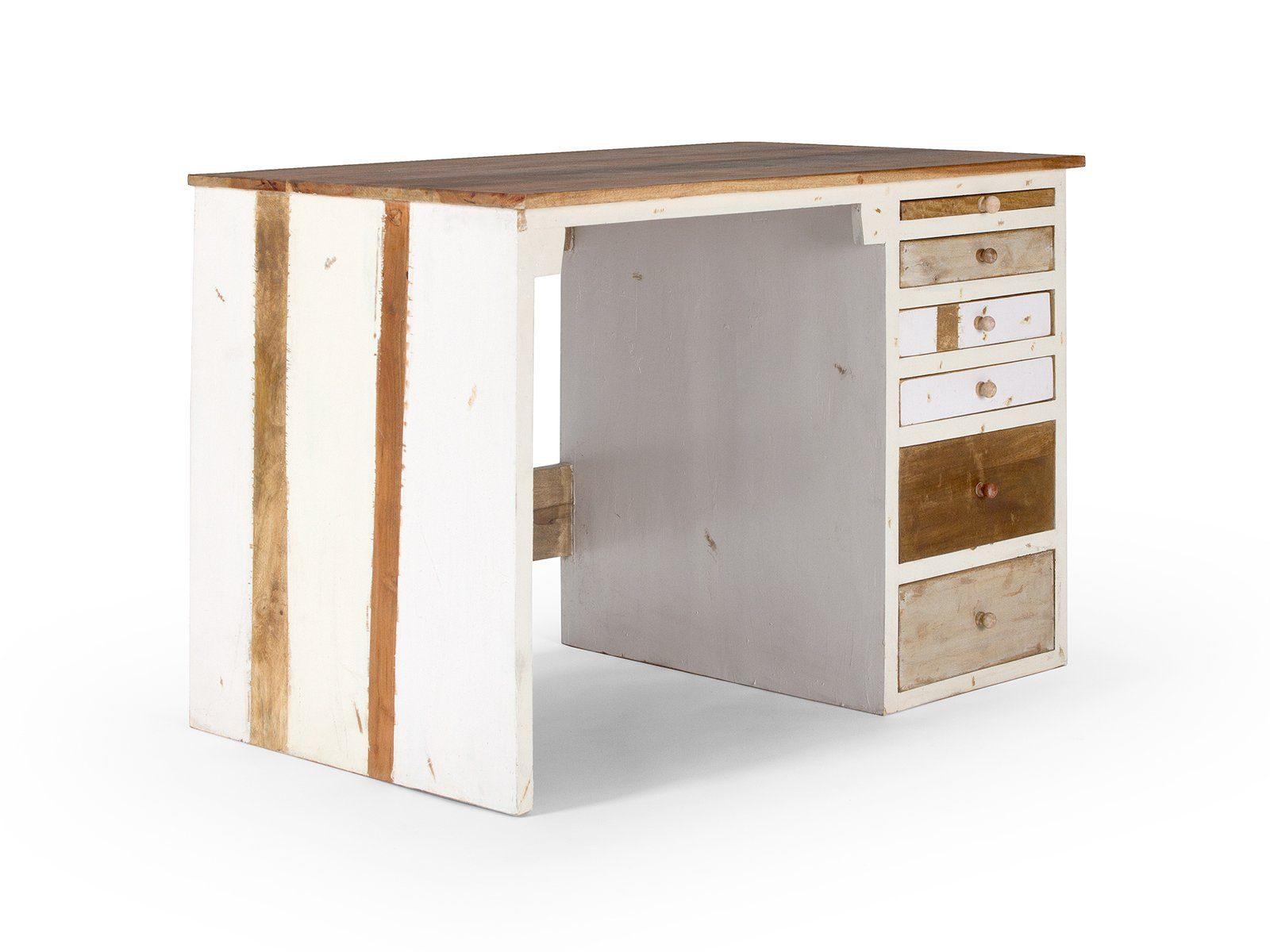 massivum Schreibtisch aus Mango massiv »Charley«