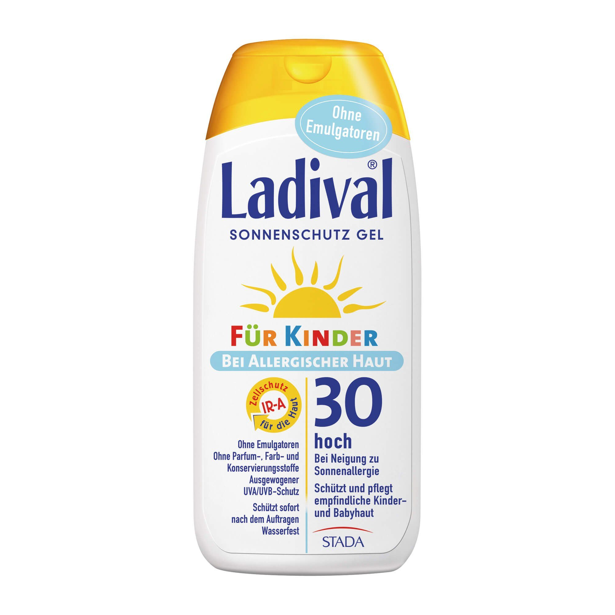 Ladival Ladival für Kinder Sonnenschutz allergische Haut Gel LSF 30 , 200 ml