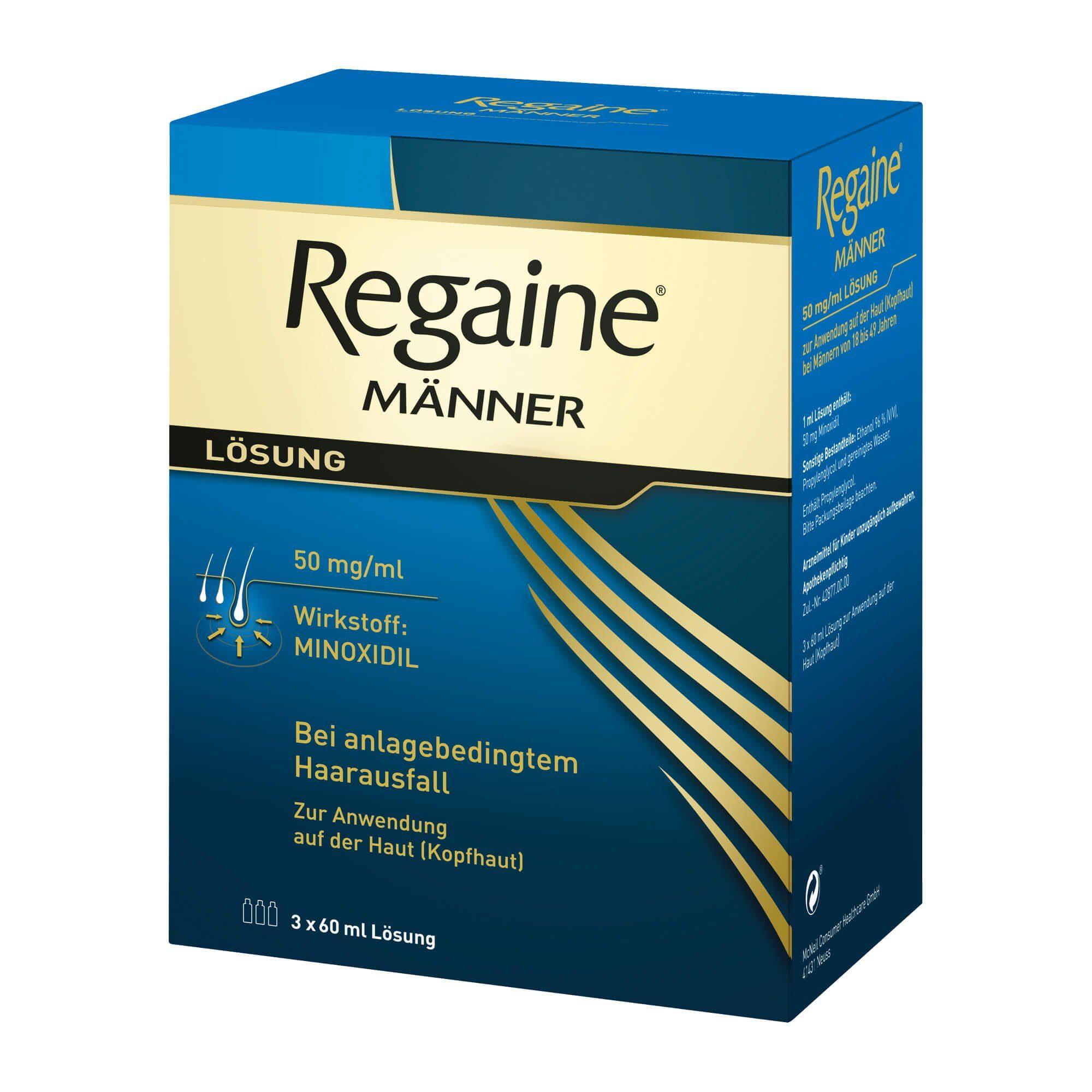 Regaine Männer, 3X60 ml