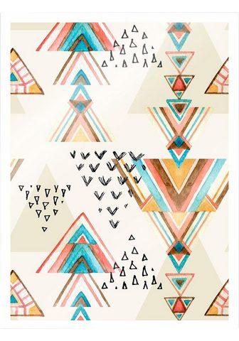 Plakatas »Bohemian Triangles« (2 St.)