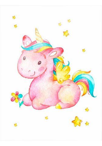 Plakatas »Pinky the Unicorn« (2 St.)