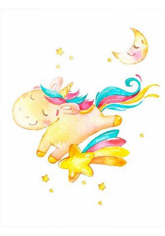 Paveikslas »Shiny the Unicorn« Einhorn...