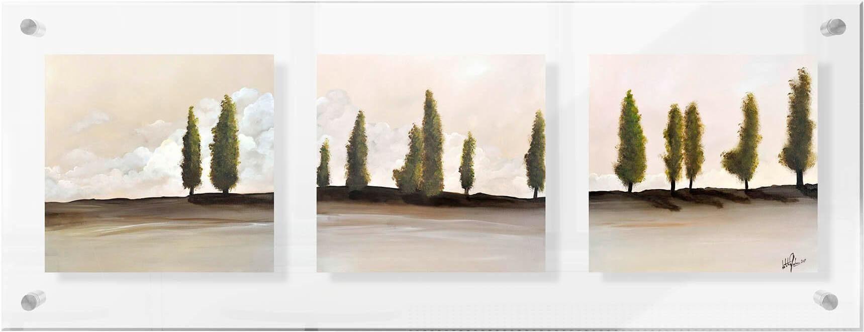Premium collection by Home affaire Acrylglasbild »Fedrau - Frieden – Panorama«, 78/28 cm