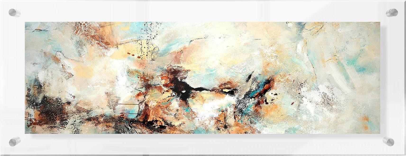 Premium collection by Home affaire Acrylglasbild »Fedrau - Gelegenheit 07 – Panorama«, 98/38 cm