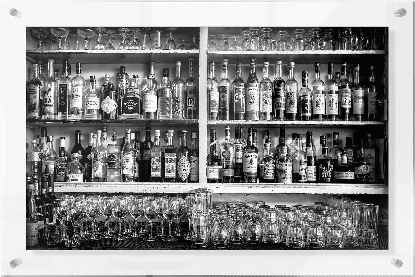 Premium collection by Home affaire Acrylglasbild »Klein - The Classic Bar«, 118/48 cm