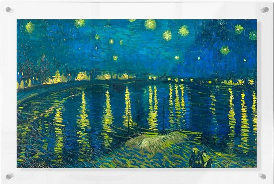 Premium collection by Home affaire Acrylglasbild »van Gogh - Sternennacht 1888«, 118/73 cm