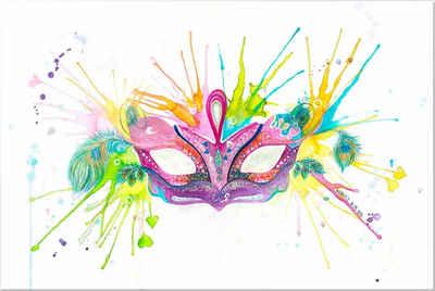 Wall-Art Acrylglasbild »Buttafly - Mardi Gras«, 60/40 cm