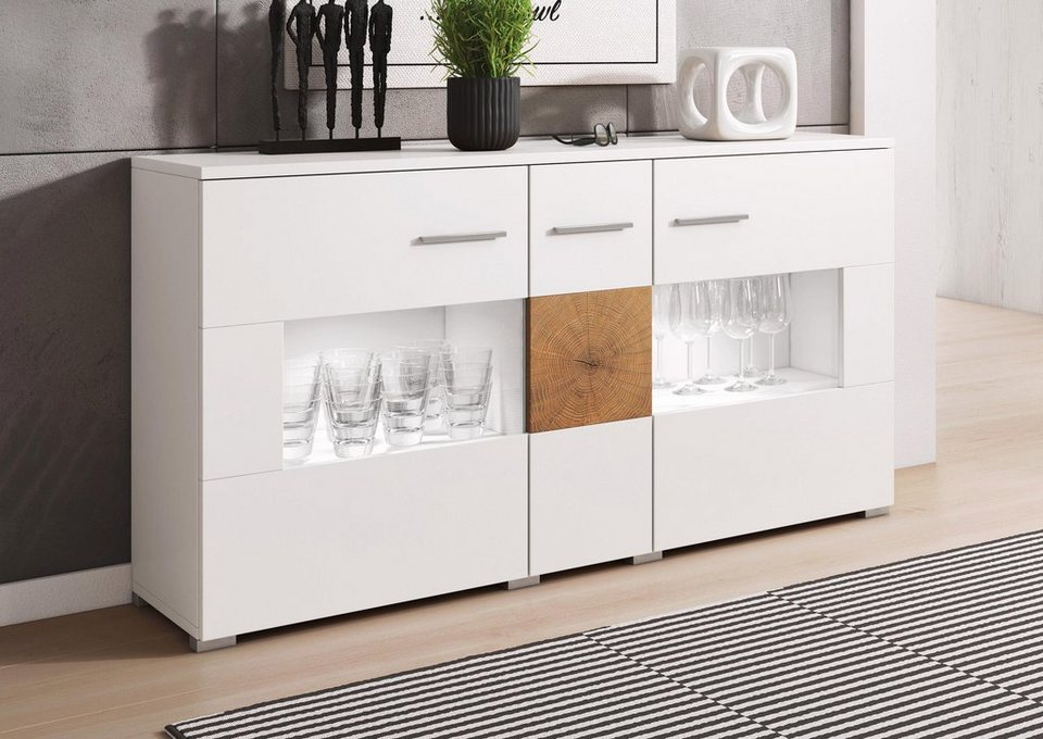 sideboard wobona breite 135 cm online kaufen otto. Black Bedroom Furniture Sets. Home Design Ideas