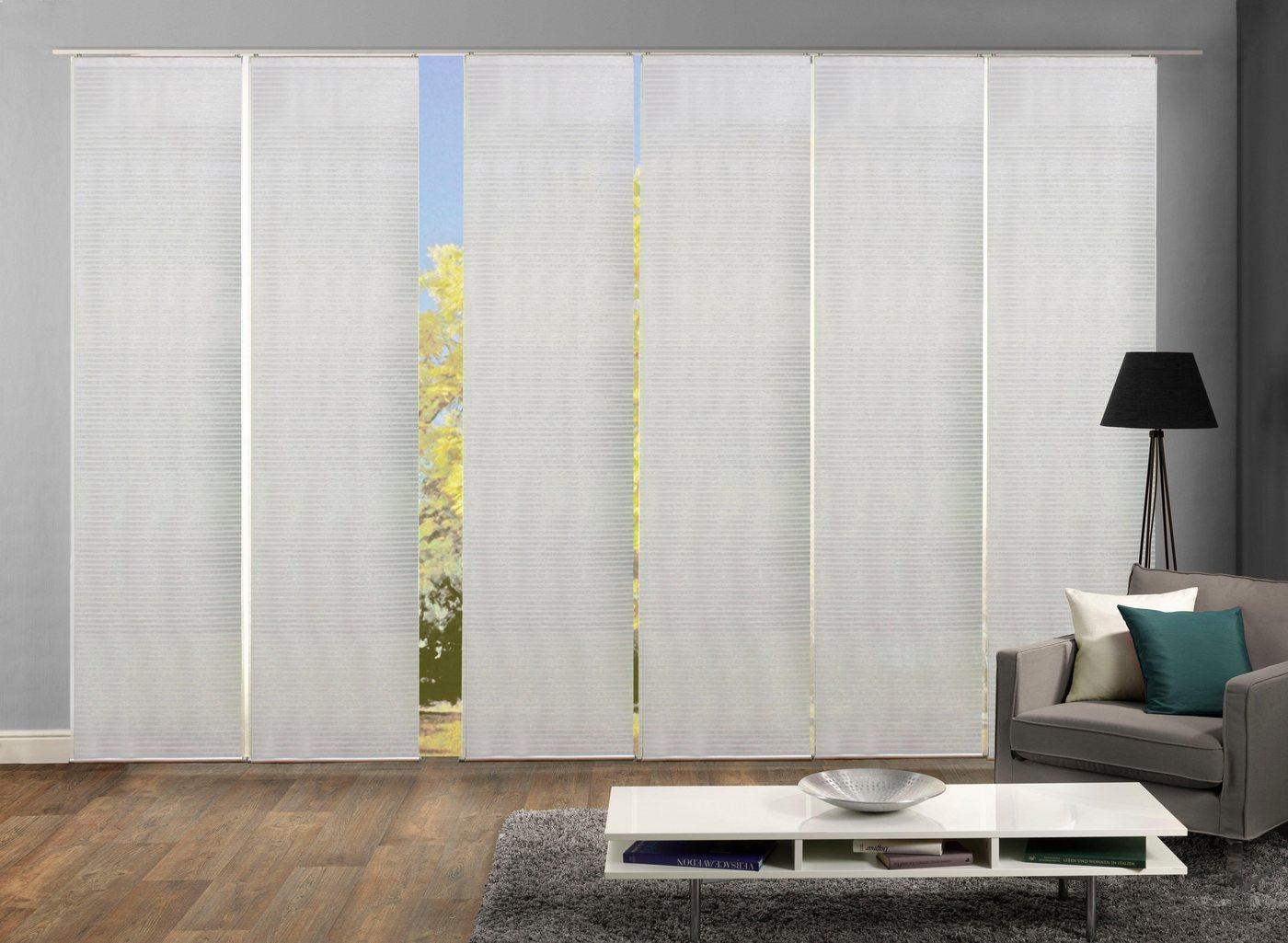schiebevorhang blickdicht weiss machen sie den preisvergleich bei nextag. Black Bedroom Furniture Sets. Home Design Ideas