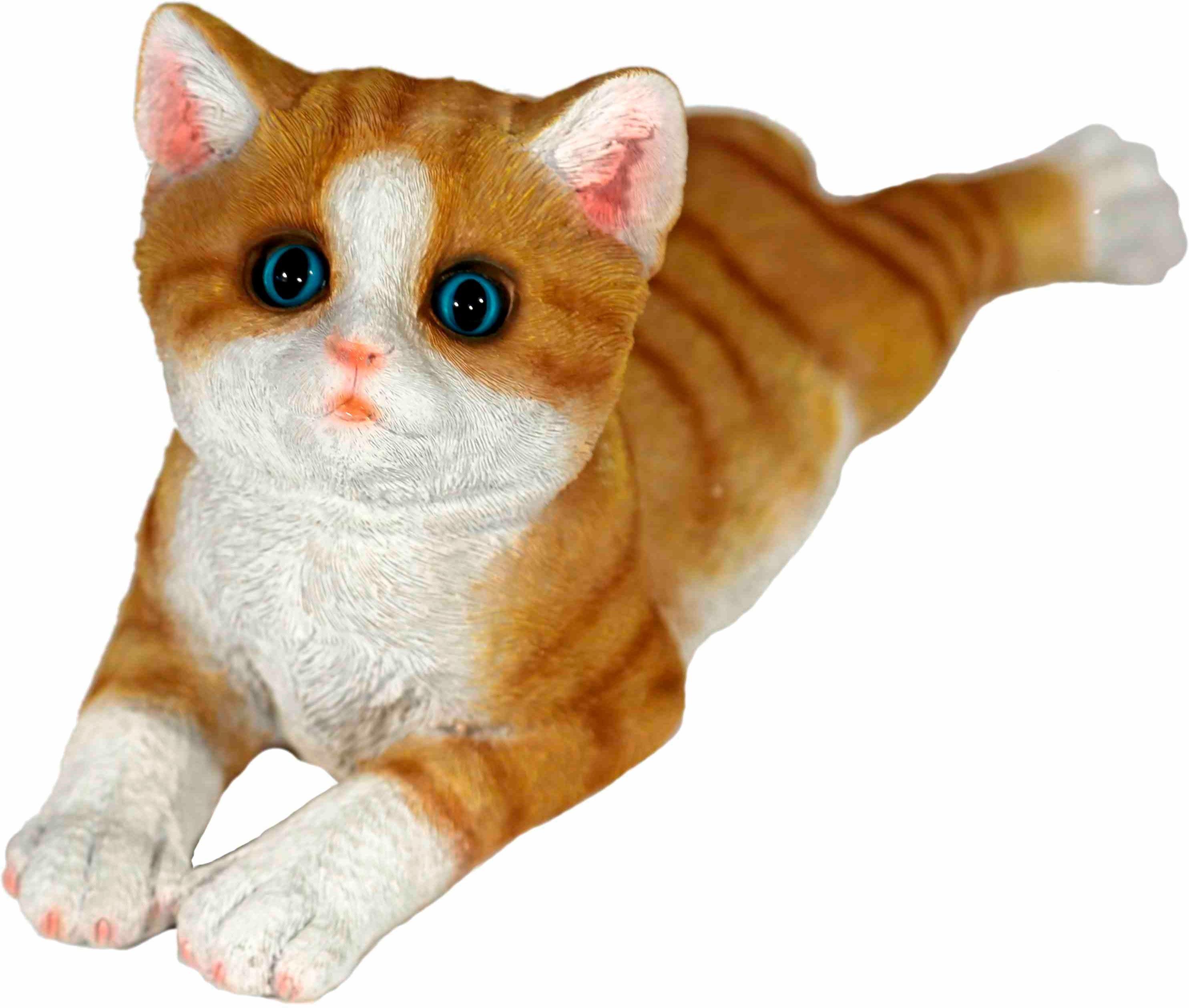 Home affaire Dekofigur »Katze braun, liegend, L 34 cm«