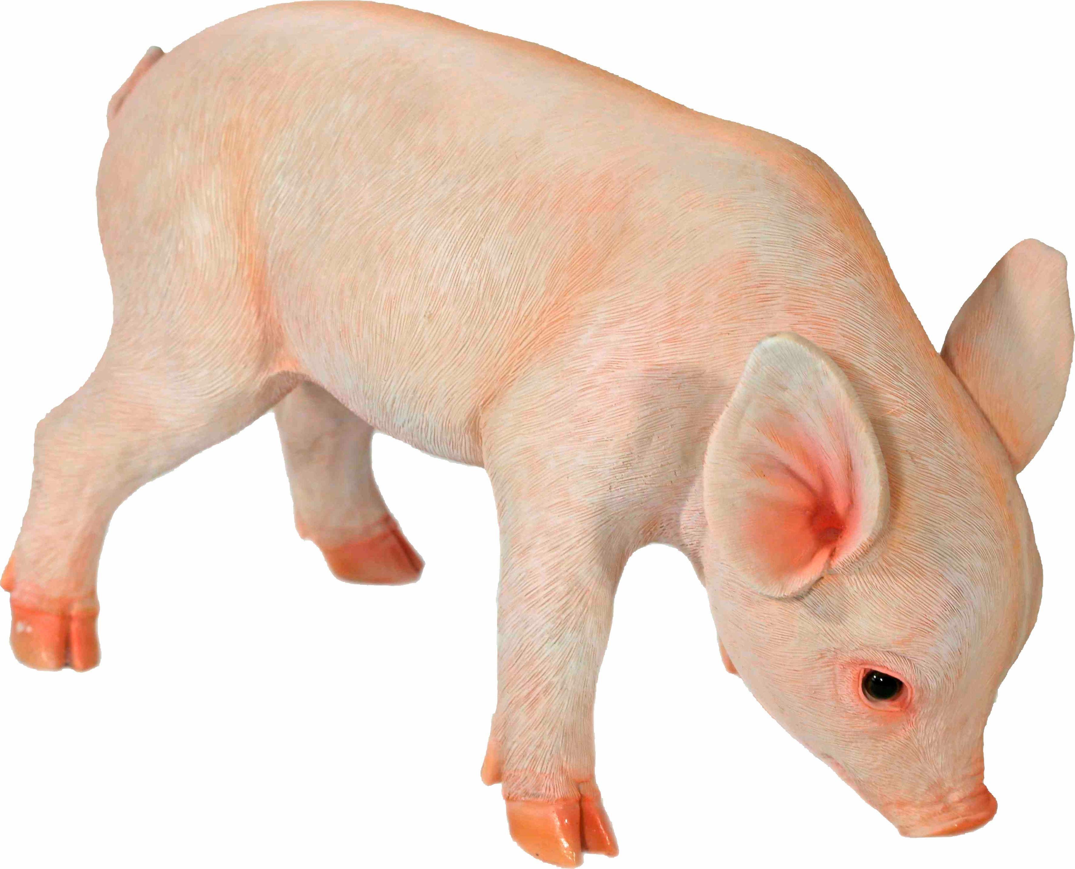 Home affaire Dekofigur »Schwein stehend, H:21 cm L: 32 cm«