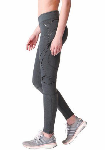 adidas Performance Lauftights ADIZERO SPRINTWEB LONG TIGHT WOMEN, mit praktischer Bundtasche