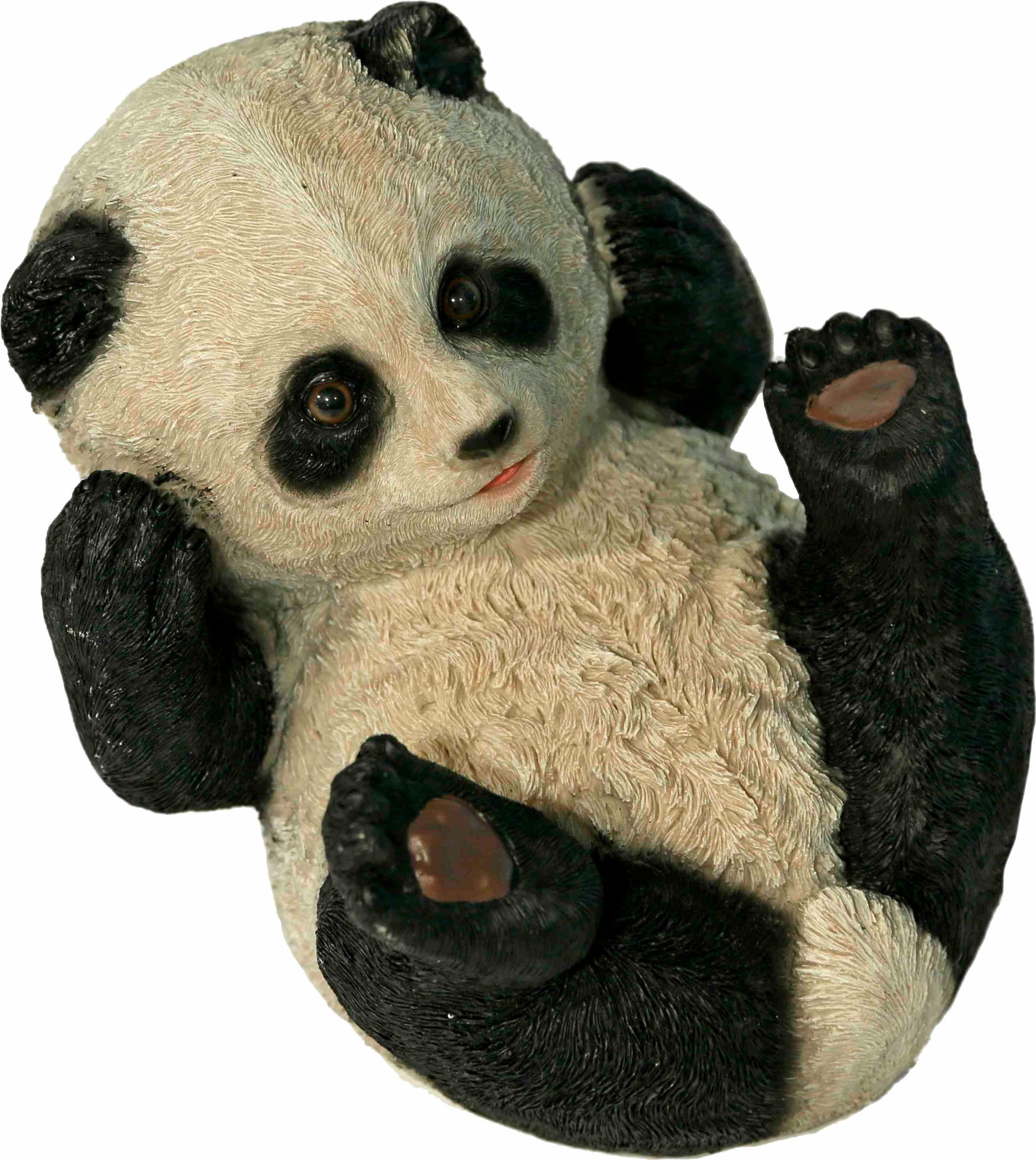 Home affaire Dekofigur »Panda auf Rücken liegend, Breite ca. 25cm«