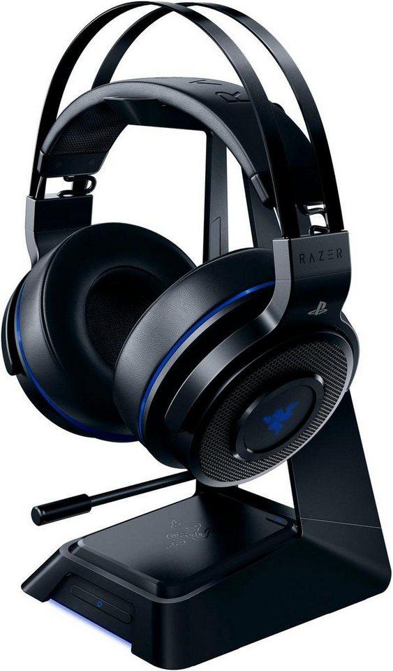 razer thresher ultimate ps4 gaming headset dolby. Black Bedroom Furniture Sets. Home Design Ideas