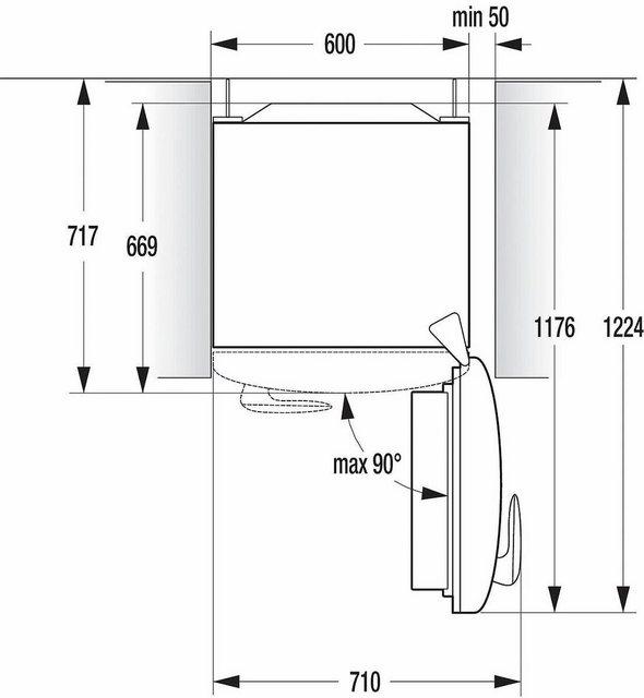 GORENJE Kühl- Gefrierkombination ORK193R, 194 cm hoch, 60 cm breit