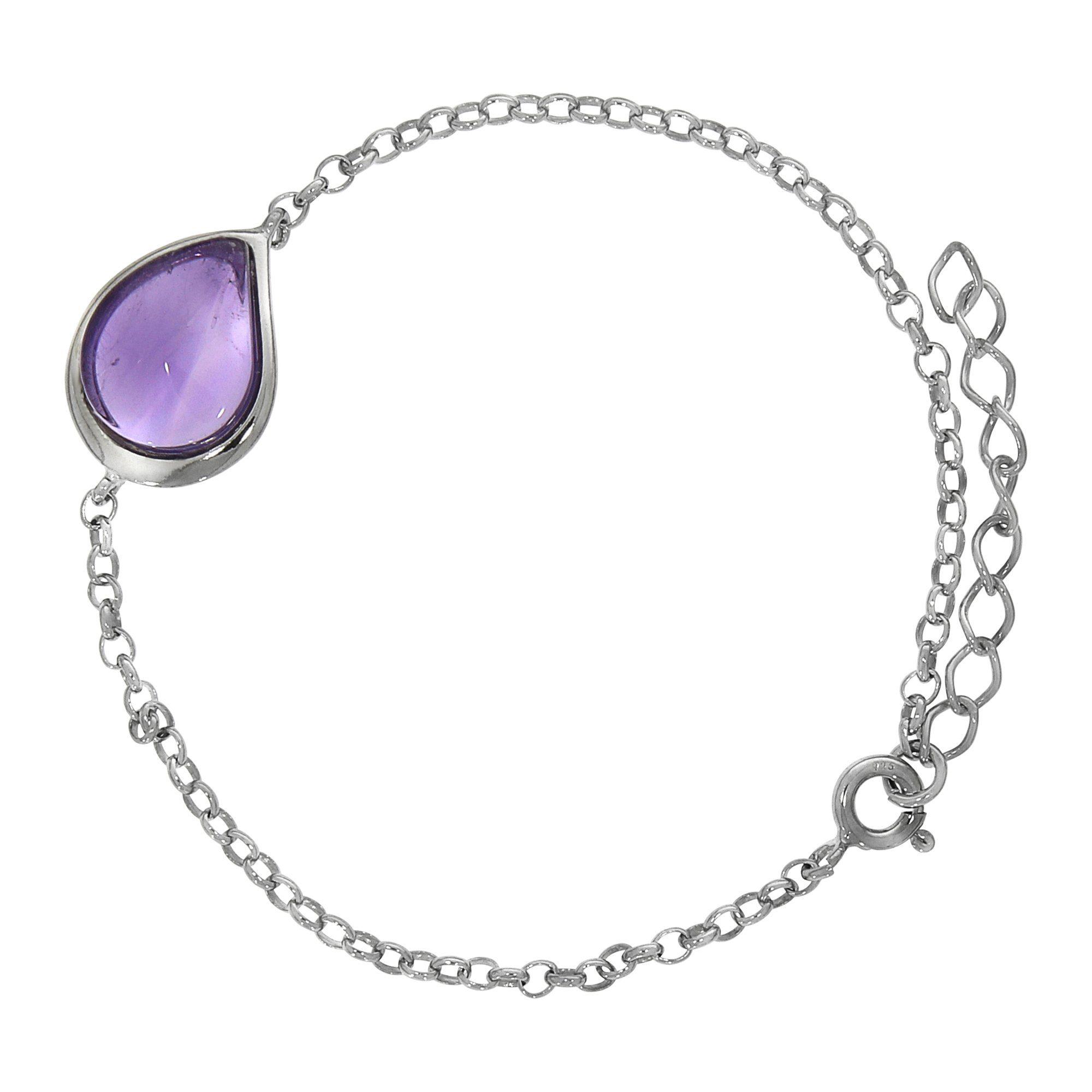 Firetti Armband »925/- Sterling Silber rhod. Amethyst«