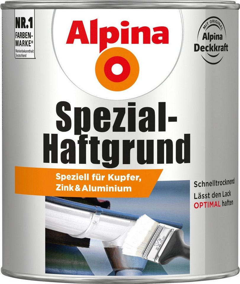 alpina spezial haftgrund spezial haftgrund wei 750 ml. Black Bedroom Furniture Sets. Home Design Ideas