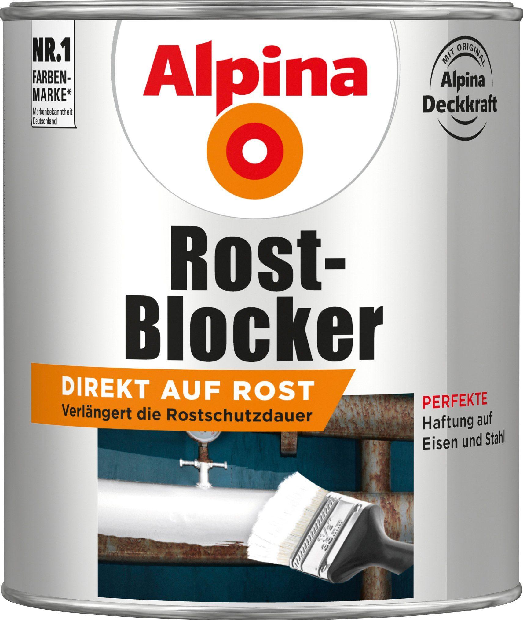 ALPINA Rostblocker »Rost-Blocker«, grau, 750 ml
