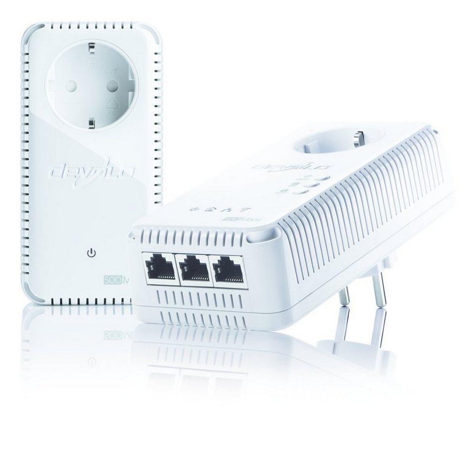telekom router dlan 500 av wireless starter kit 500mbit s online kaufen otto. Black Bedroom Furniture Sets. Home Design Ideas